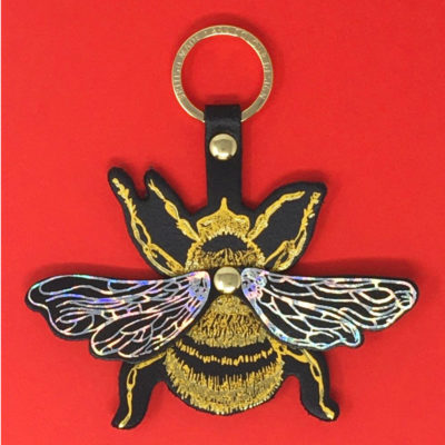 Bee Keyfob by Ark Colour Design