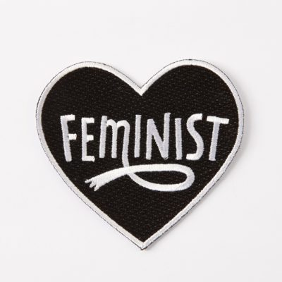 Feminist Patch by Punky Pins
