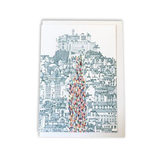 Festival Mile Card by David Fleck