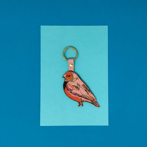 Finch Key Fob by Ark Colour Design