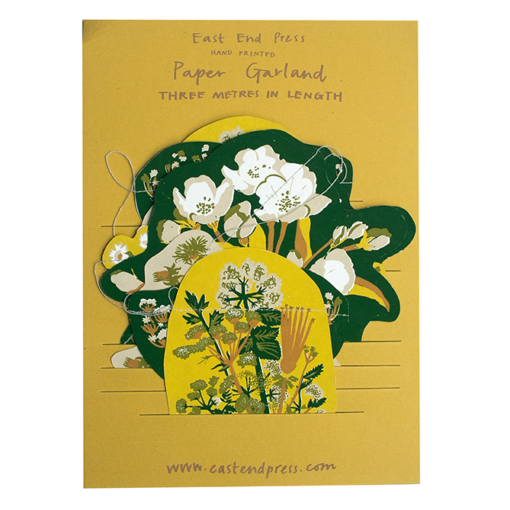 Spring Hedgerow Garland by East End Press