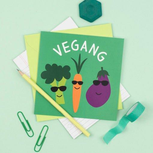 Vegang Card by Hello Dodo