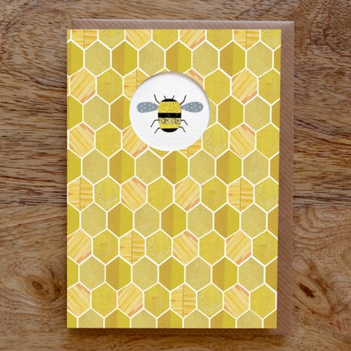 Honey Bee Card by Paper Whale