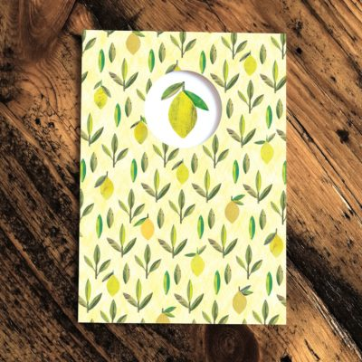 Lemons Card by Paper Whale
