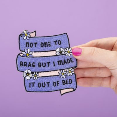 Made It Out of Bed Patch by Punky Pins