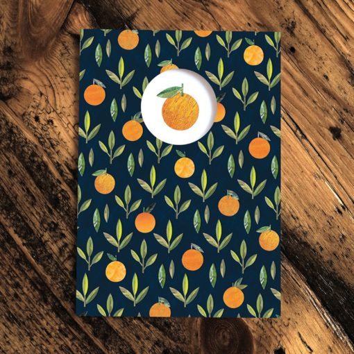 Oranges Card by Paper Whale