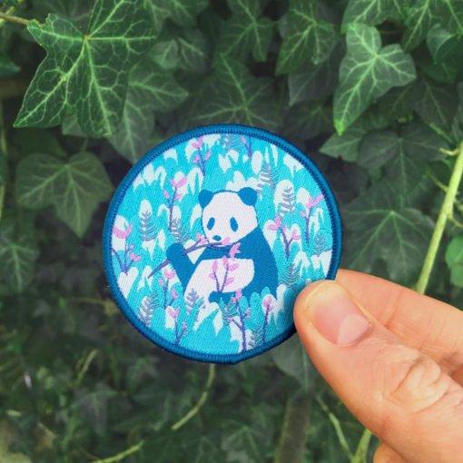 Tom Hardwick Iron On Panda Patch