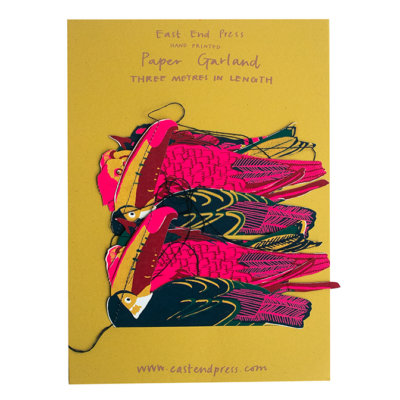 Tropical Bird Garland by East End Press