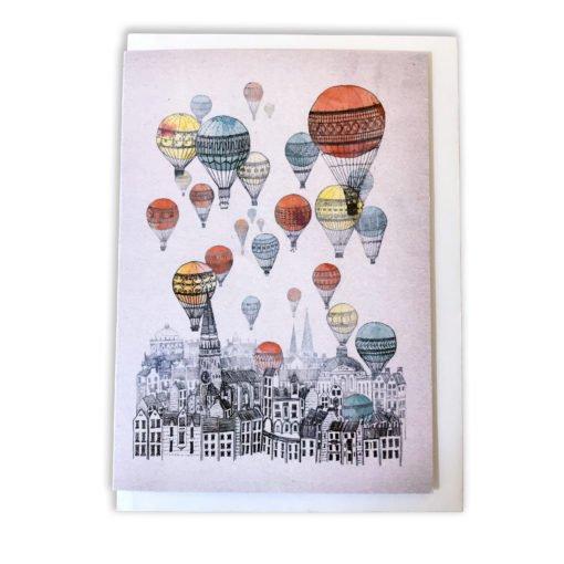 Voyages Over Edinburgh Card