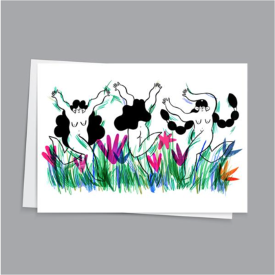 Wild Gals Card by Hattie Clark