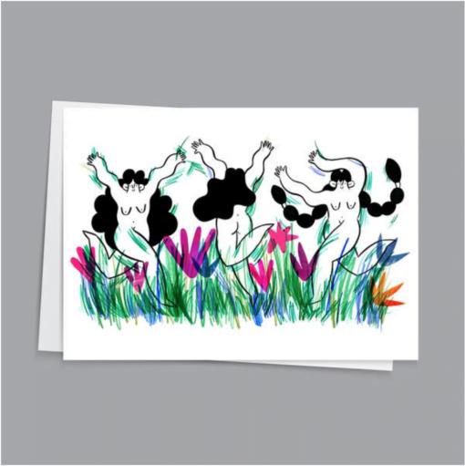 Wild Gals Card by Hattie Clark