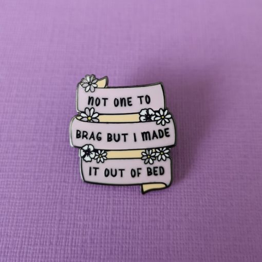 Don't Mean To Brag Pin by Punky Pins