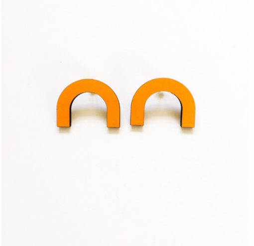 Curve Earrings by Leanh La Jeweller