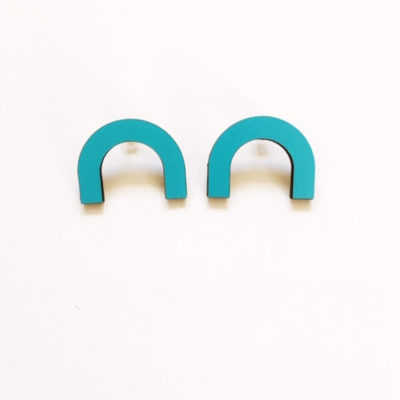 Curve Earrings by Leanh La Jewellery