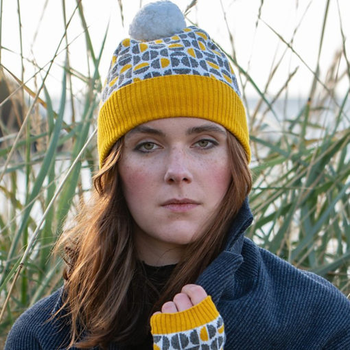 Spheres Hat in Mustard by Island Nation