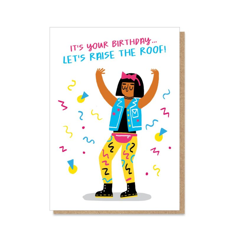 Raise The Roof Card Birthday Cards The Red Door