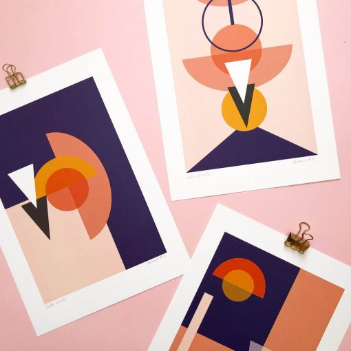 Abstract Print Collection by Hello Marilu