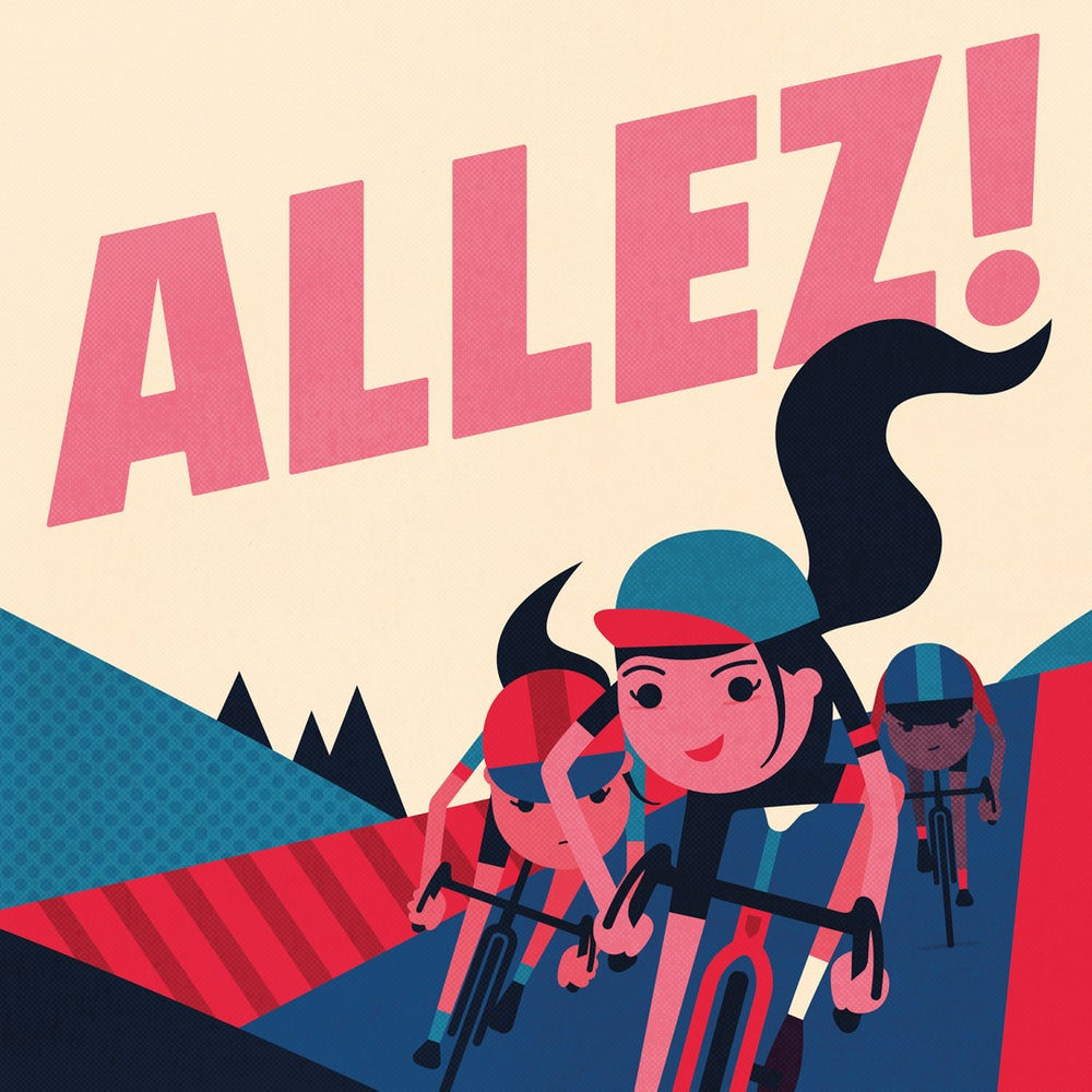 Allez! by Spencer Wilson