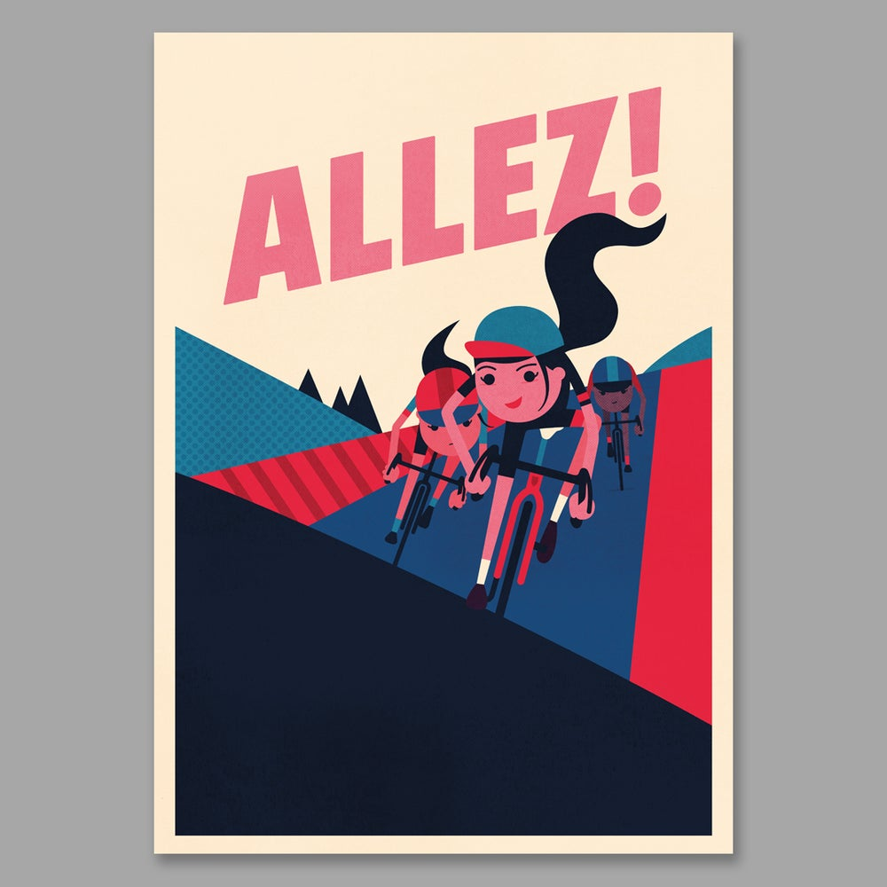 Allez! by Spencer Wilson
