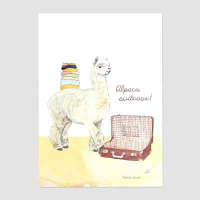 Alpaca Suitcase