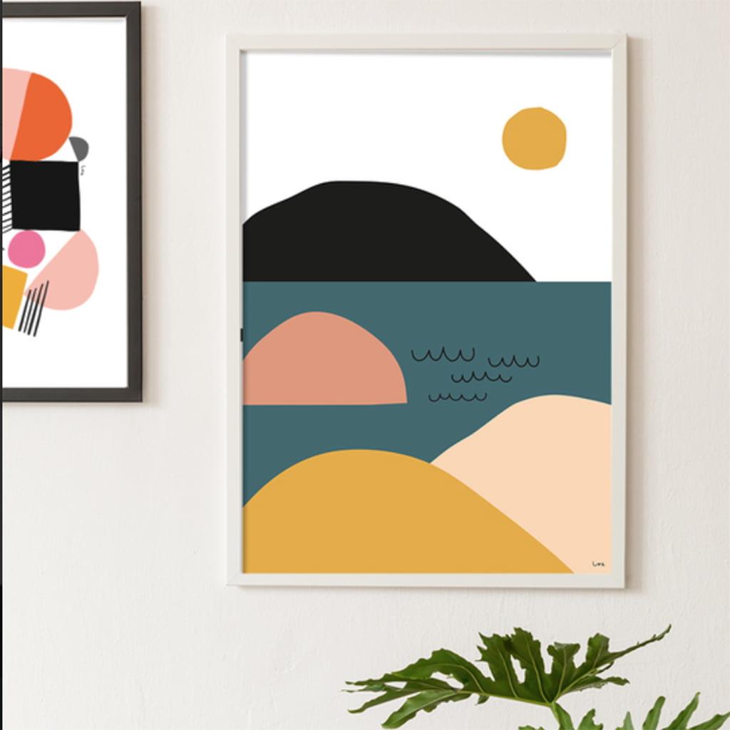 Archipelago, Print, Landscape, Digital Print, Isa Form