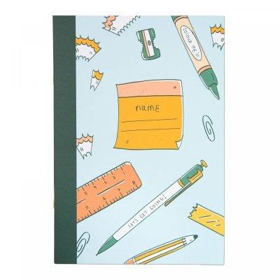 Arden Rose Desk Doodle Notebook