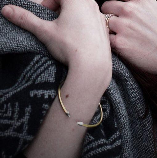 Arrow Bracelet by Pistol Peach at The Red Door Galler