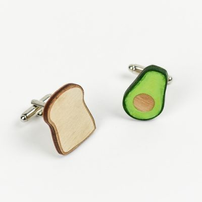 Avo Toast Cufflinks