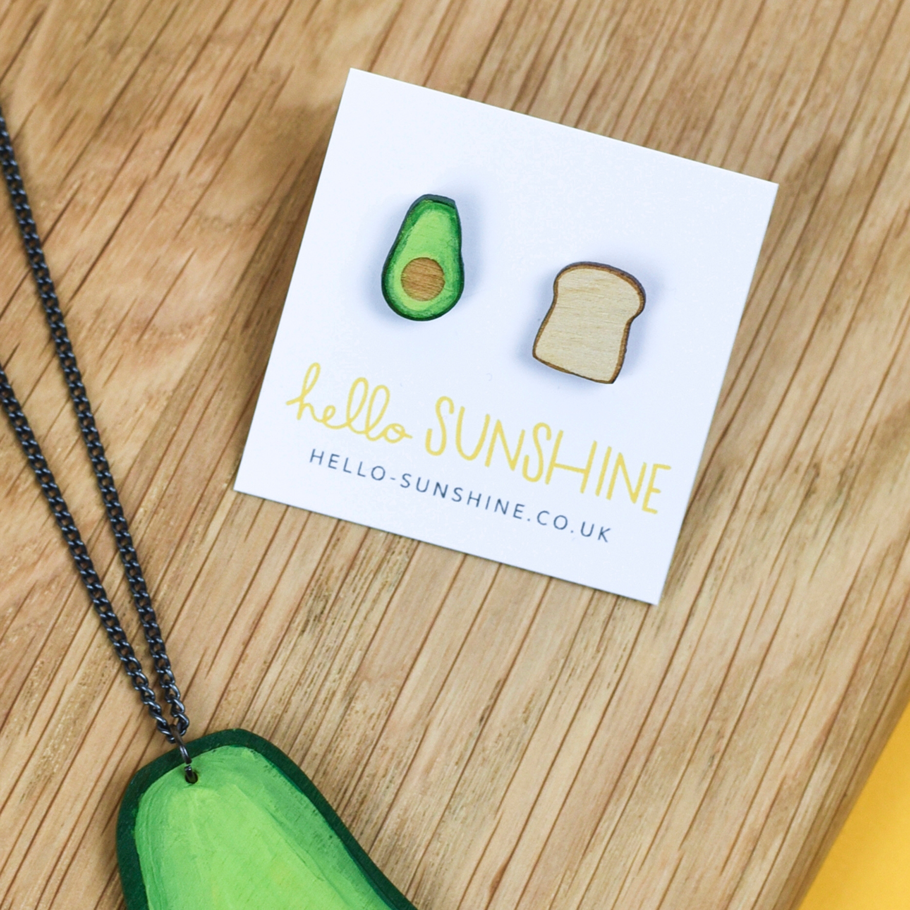 Avocado on Toast Earrings by Hello Sunshine