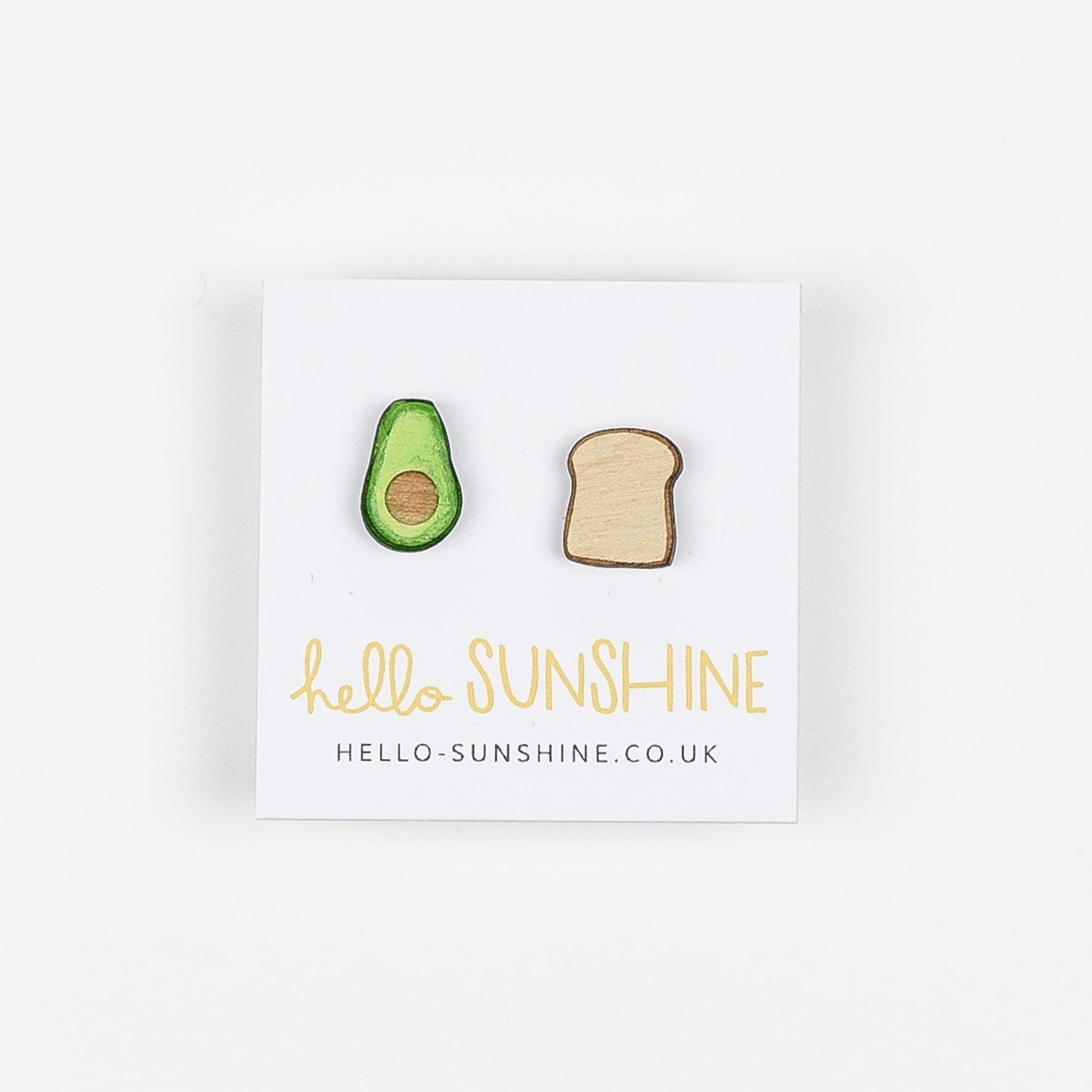 Avocado on Toast Earrings by Hello Sunshine
