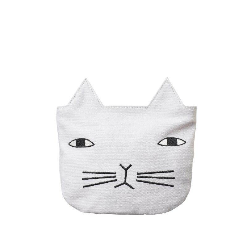 Cat Cosmetic Pouch bt Donna Wilson