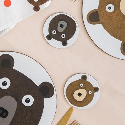 Bear Coasters - set of 4