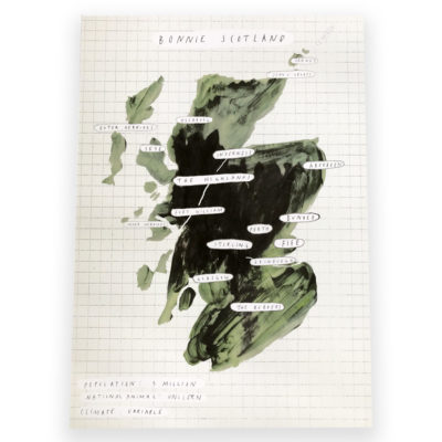 Bonnie Scotland Print by Heather More