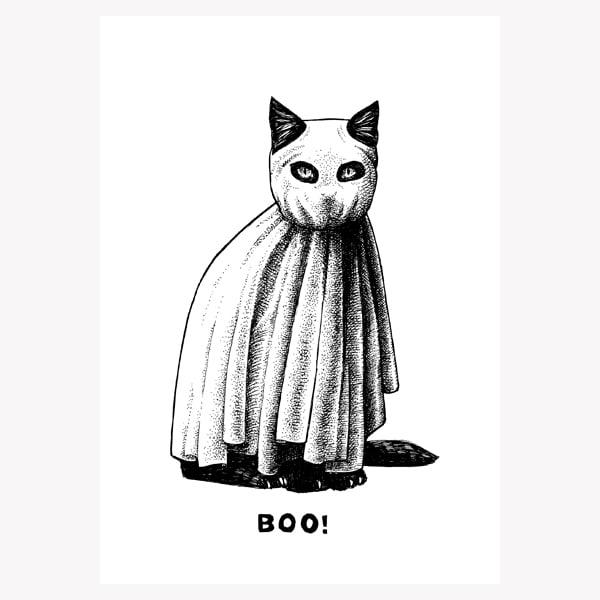 Halloween Inktober by Peter Carrington