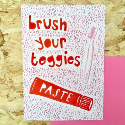 Brush Your Teggies