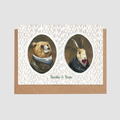 Burke Hare Card