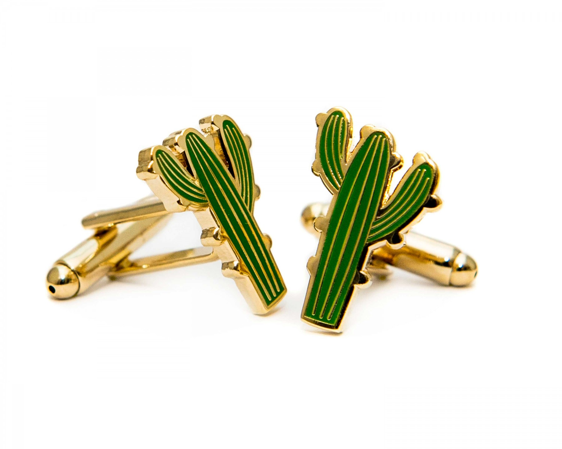 Cacti Cufflinks by Acorn and Will