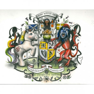 Coat of Arms - print by Kirsty Whiten