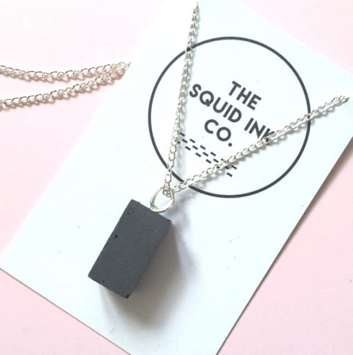 Concrete Jewellery by The Squid Ink Co at The Red Door Gallery