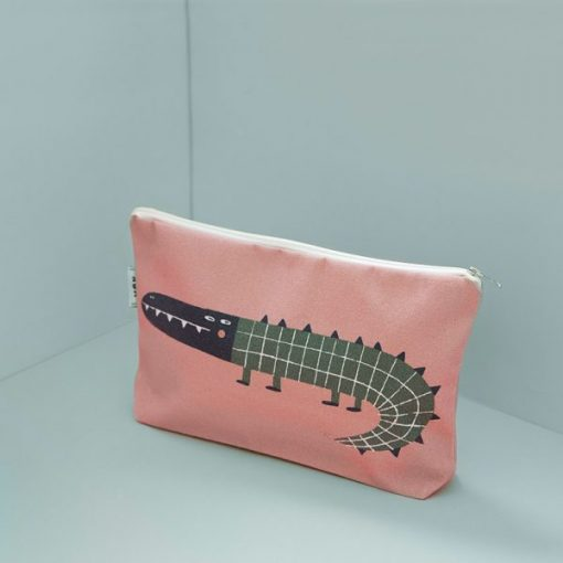 Federico the Crocodile Multipurpose Pouch by Mon Collection