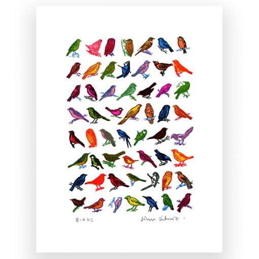 John Dilnot Mini Screen Prints