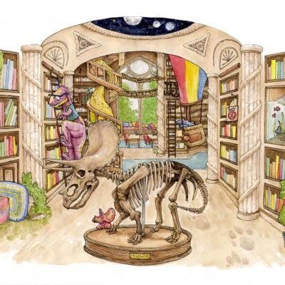 Dinosaur library