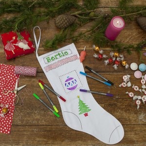 Doodle Christmas Stocking Example