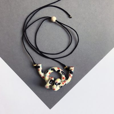 DoubleKnot Necklace by Aliyah Hussain
