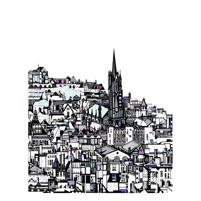 Edinburgh City A3 by Susie Wright