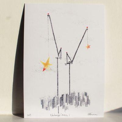 Edinburgh Cranes1close