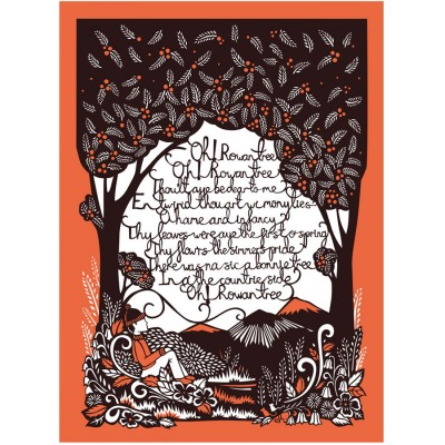 Emily Hogarth Oh Rowen Tree Screenprint