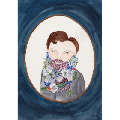 Flower Gentleman by Claire Fleck