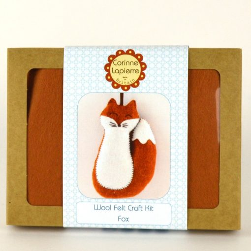 Fox Felt Mini Kit by Corinne Lapierre