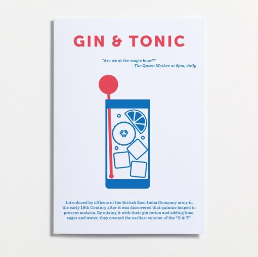 The Classic G&T, the perfect after work cocktail.